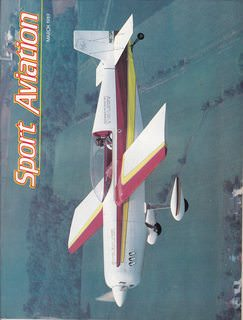 Image for Sport Aviation Magazine - March 1989