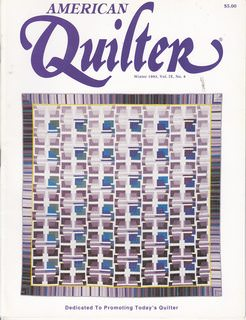Image for American Quilter Magazine WINTER 1993 Vol. IX, No. 4
