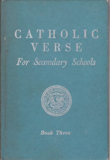 Image for Catholic Verse for Secondary Schools Book Three