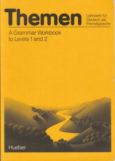 Image for Themen - Level 1: Grammar Workbook 1/2 (for English Speakers)