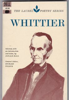 Image for Whittier (Laurel Poetry Series)