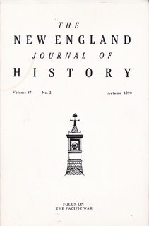 Image for The New England Journal of History Vol. 47 No. 2 Autumn 1990: Focus of The Pacific War