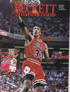 Image for Beckett Basketball Monthly (Scottie Pippen Cover, June 1994)
