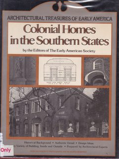 Image for Colonial Homes in the Southern