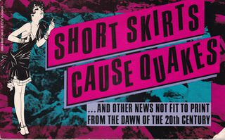 Image for Short Skirts Cause Quakes: And Other News Not Fit to Print