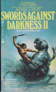 Image for Swords Against Darkness II - Edited With an Introduction by Andrew J. Offutt