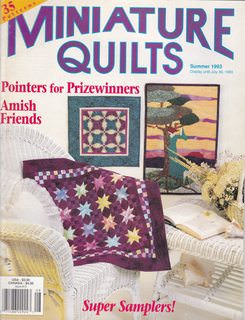 Image for Miniature Quilts Summer 1993