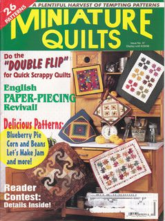 Image for Miniature Quilts Vol. 8, Issue 3, No. 37 SEPTEMBER 1998