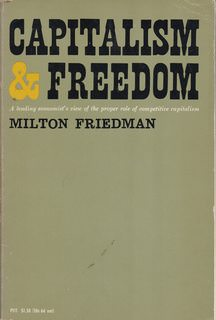 Image for Capitalism and Freedom by Friedman, Milton