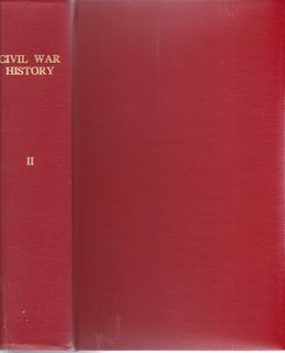Image for A Quarterly Journal of Studies in Civil War History, Volume II No. 1-4 (March, June, Sept, Dec. 1956)